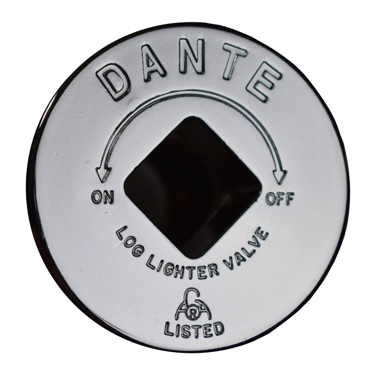 Dante escutcheon chrome front