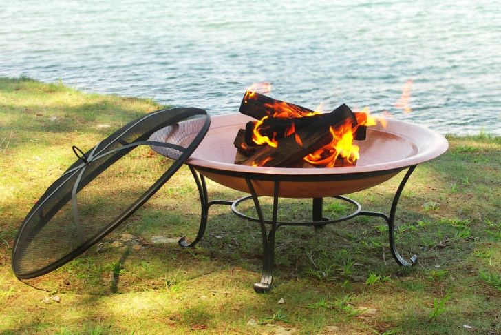Fireplace Grate Amazon Lovely Amazon Catalina Creations solid Copper Fire Pit