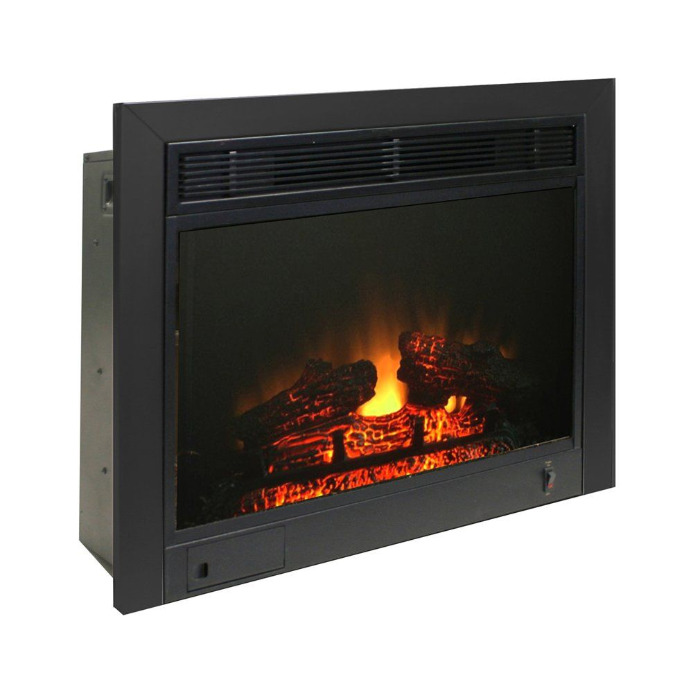 Fireplace Insert Heater New Shop Paramount Ef 123 3bk 23 In Fireplace Insert with Trim