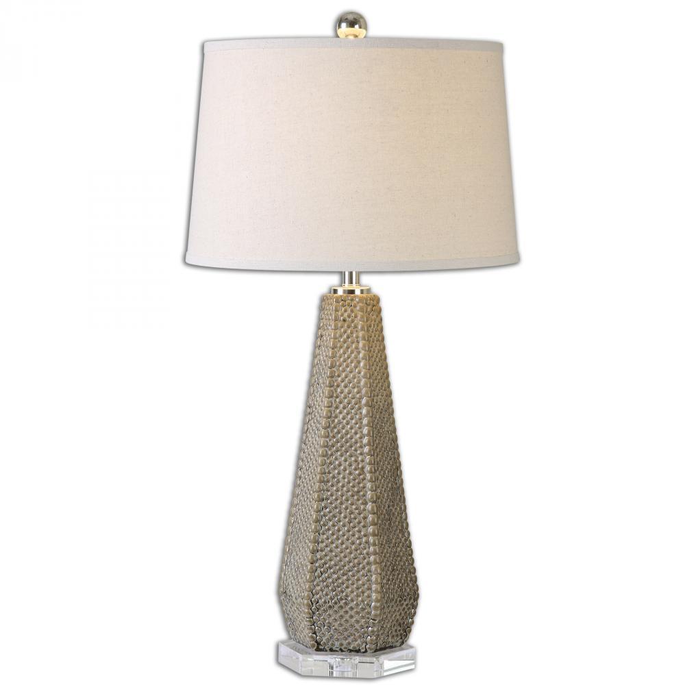 Fireplace Lamp Inspirational Uttermost Pontius Taupe Lamp 9lumv