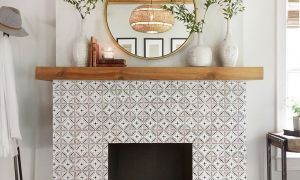 20 Beautiful Fireplace Mantel Height