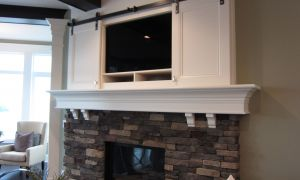 25 Awesome Fireplace Mantels with Tv Above