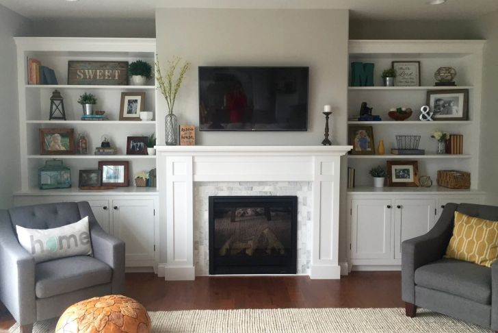 Fireplace Mesh Curtain Awesome How to Build A Built In the Cabinets Woodworking