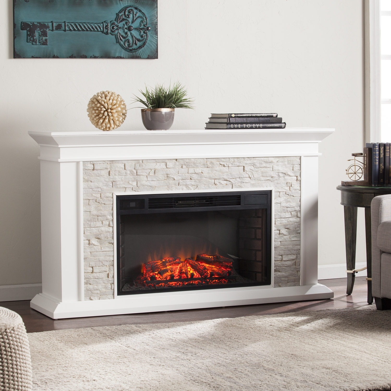 white faux stone electric fireplace white faux stone electric fireplace luxury utley white faux stone widescreen electric fireplace electric