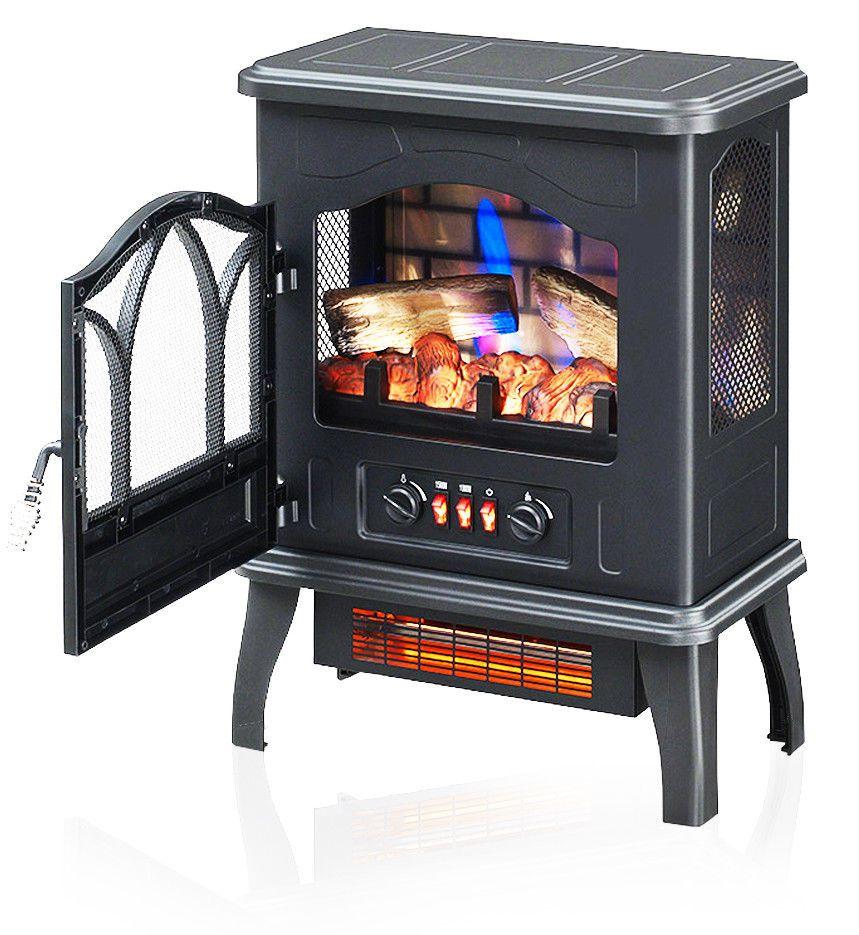 Fireplace Space Heater Luxury Chimneyfree Electric thermostat Fireplace Space Heater