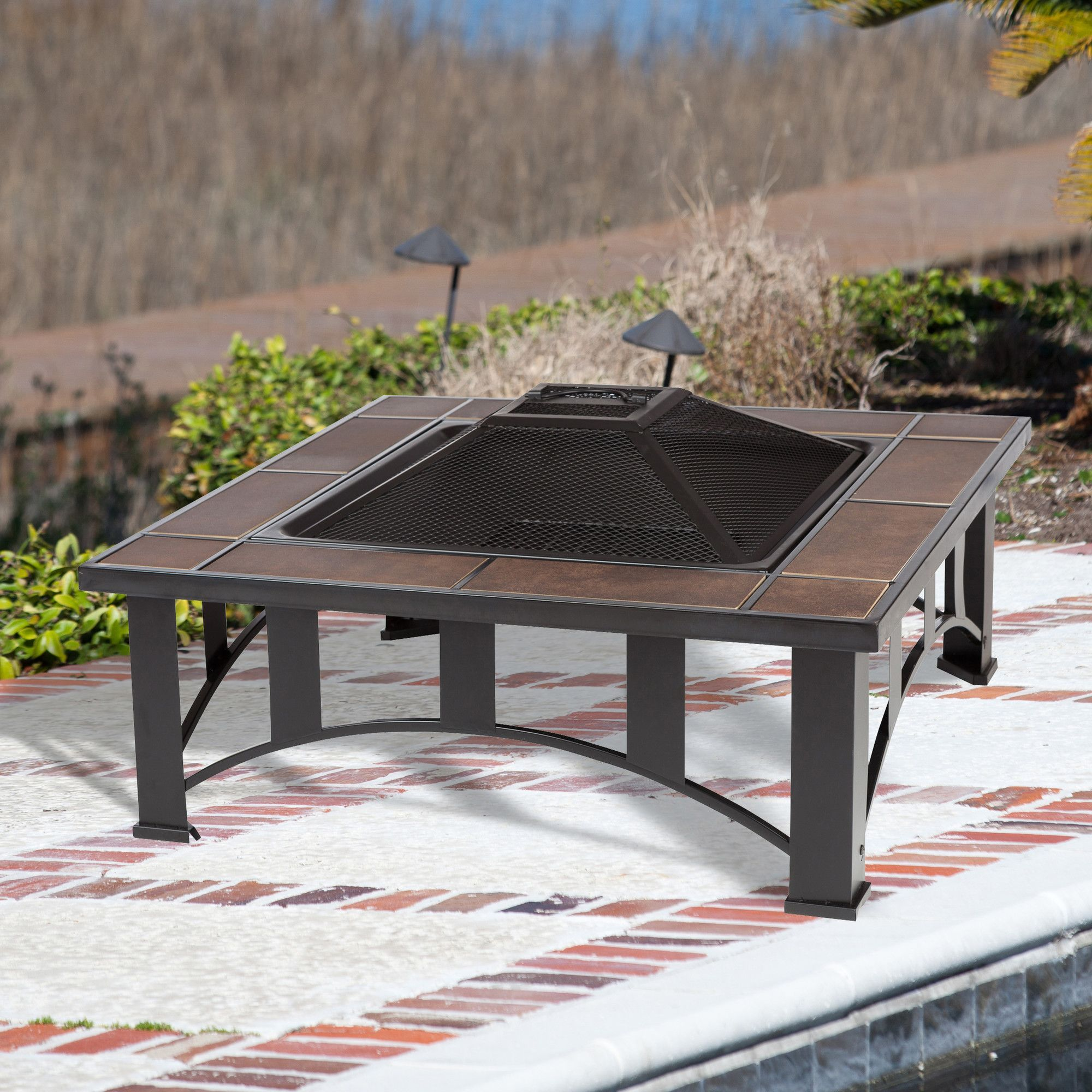 Fireplace tools Lowes Fresh Steel Wood Burning Fire Pit Table Products