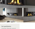 Fireplace Trends Luxury Versatile Two Sided Corner Fire the Lugo 2 is Available In