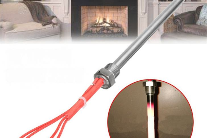 Fireplace Tube Heater Inspirational 300w 220v 140x10mm Igniter Hot Rod Heating Tube Ignitor Starter for Fireplace Grill Stove Part