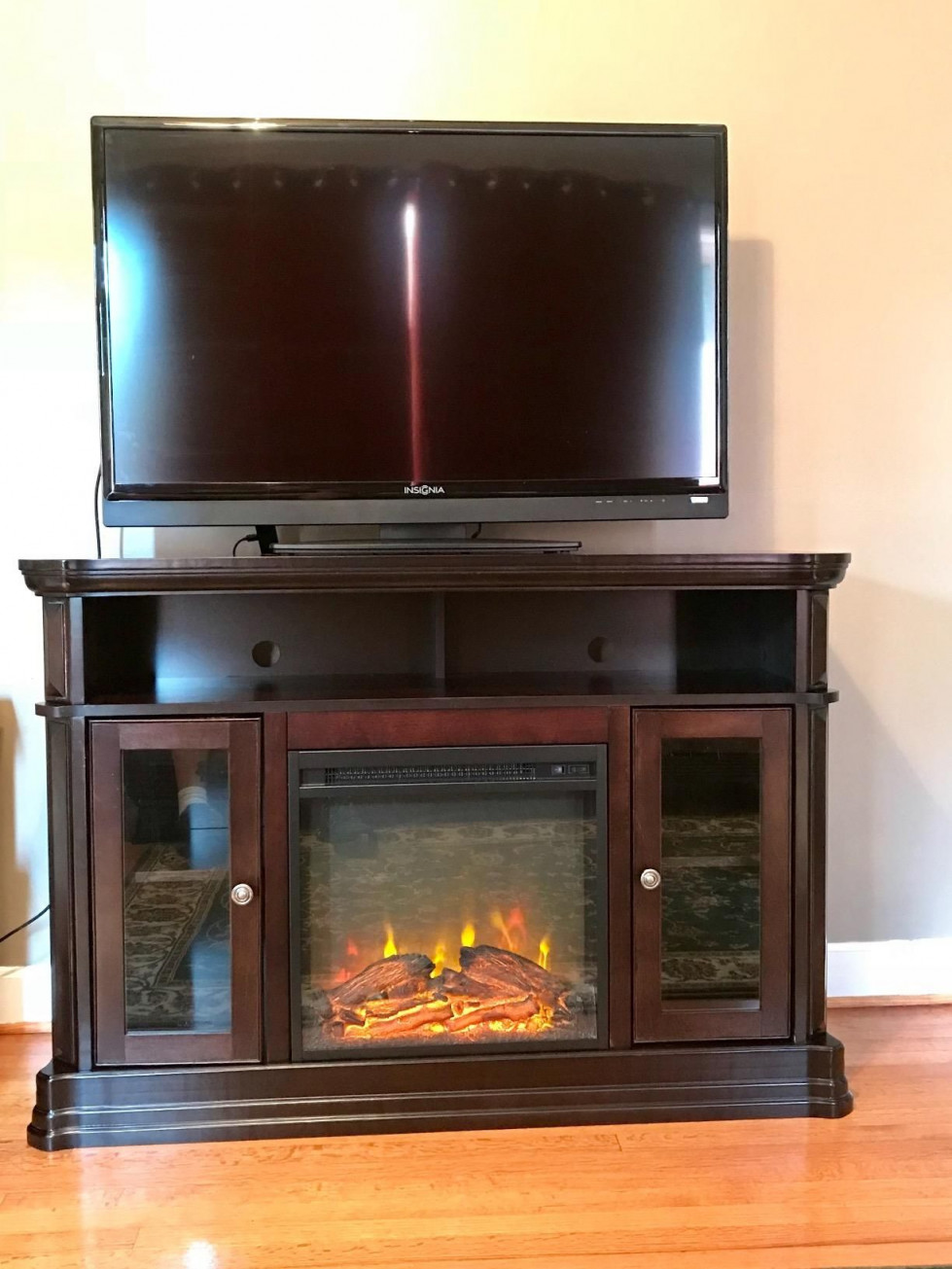 electric fireplace tv stand minimaliste ameriwood home brooklyn electric fireplace tv console of electric fireplace tv stand