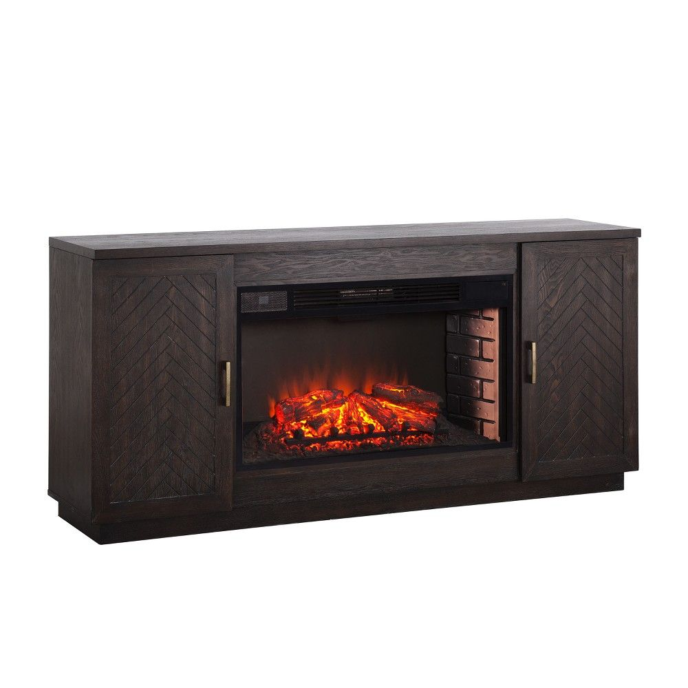 """Fireplace Units Lovely Lantoni 33"""" Widescreen Electric Fireplace Tv Stand White"""