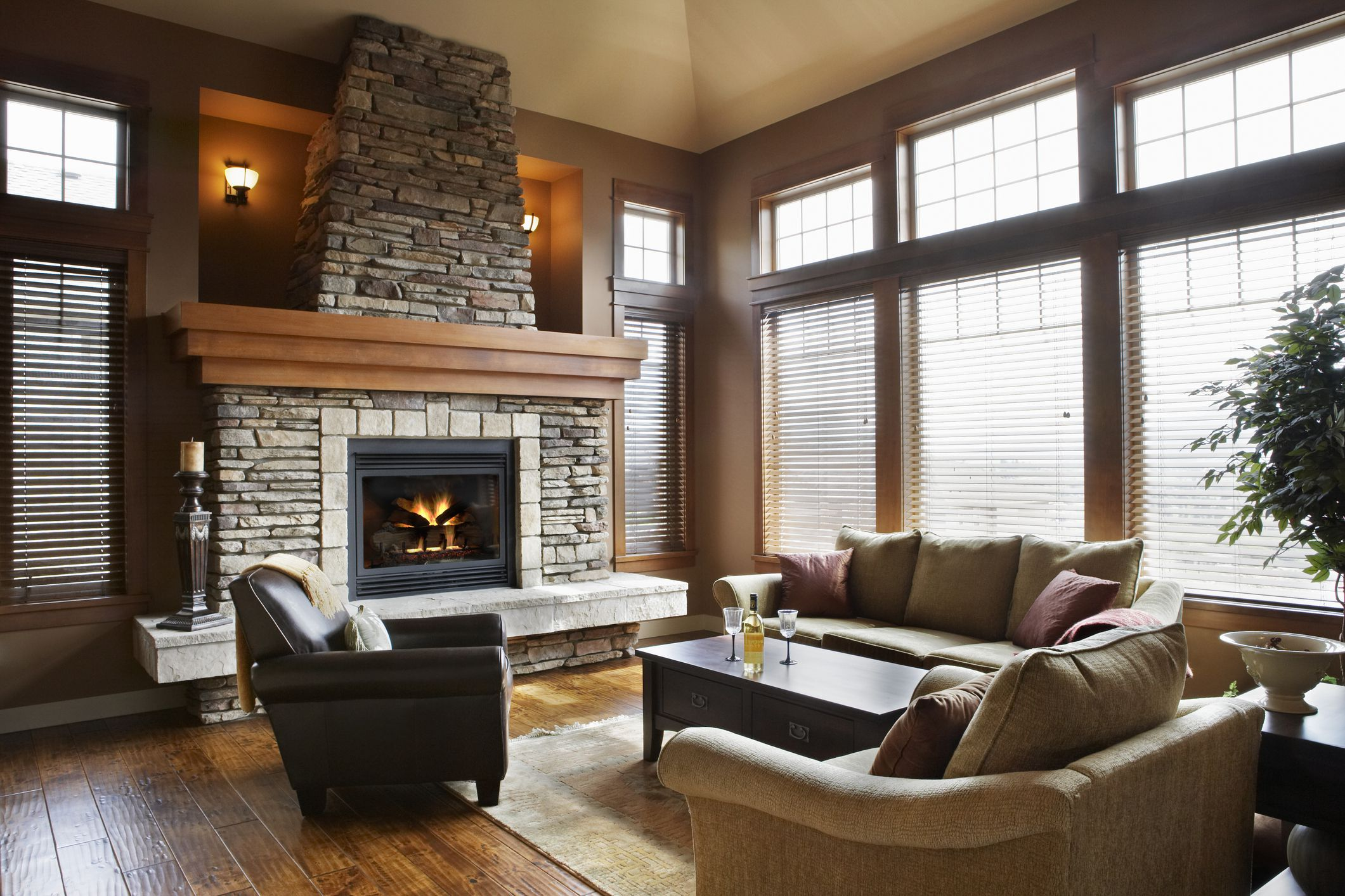 living room wit fireplace in contemporary home 5c617ba246e0fb f09