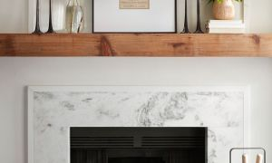 24 Elegant Fireplace Wood Frame