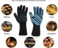 Fireproof Insulation for Fireplace Beautiful Aotusi Oven Mitts 932°f Extreme Heat Resistant Food Grade Level 5 Protection Kitchen Silicone
