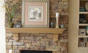 25 Unique Flat Stone Fireplace