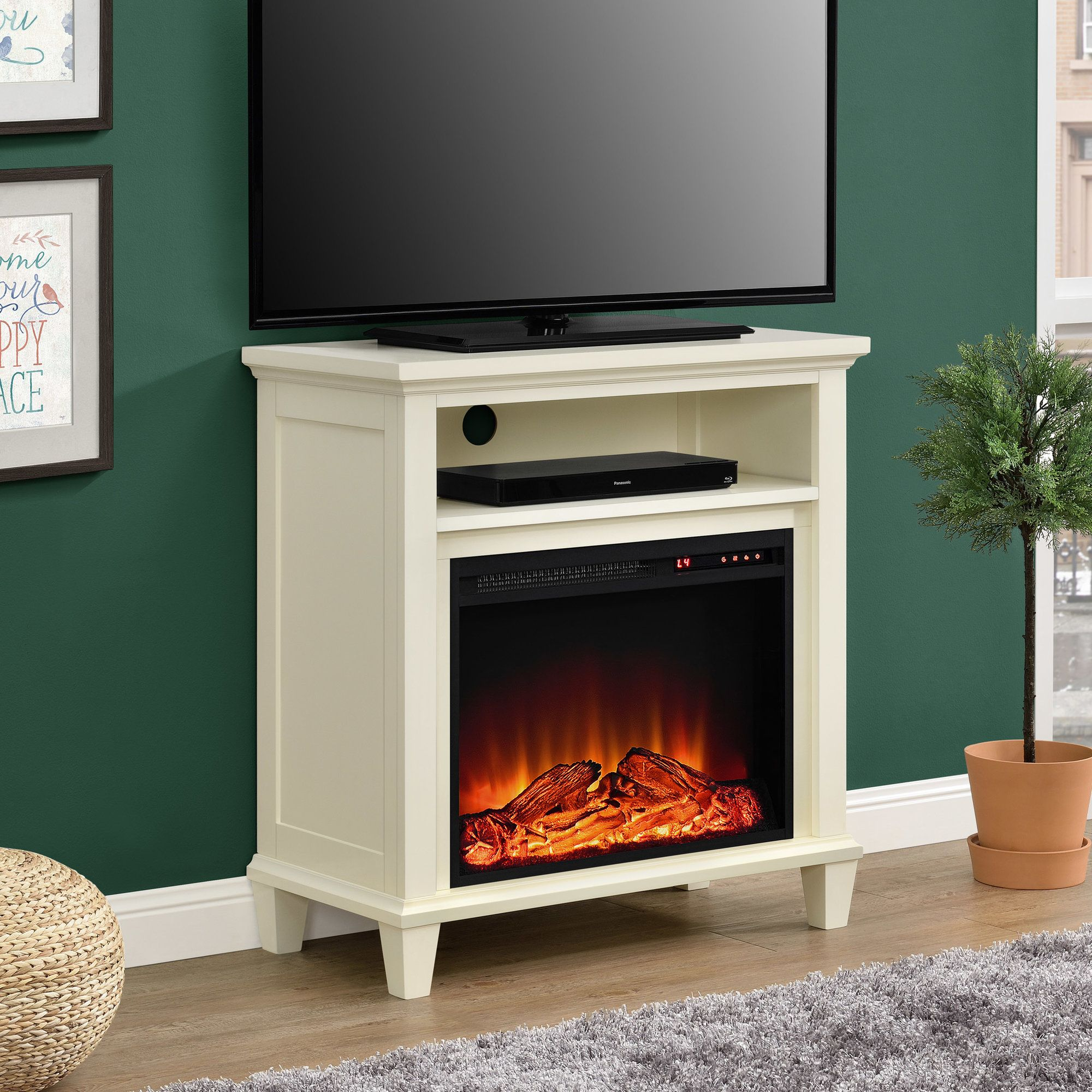 Floating Fireplace Tv Stand Best Of Joseph Media Console with Electric Fireplace
