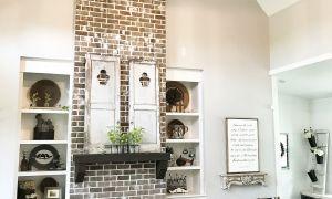 16 Elegant Floor to Ceiling Fireplace Remodel Ideas
