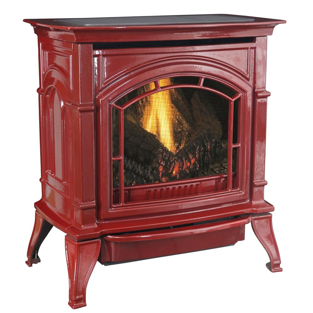 ashley hearth products freestanding gas stoves agc500vfrlp 64 1000