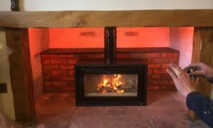 14 Lovely Freestanding Gas Fireplace