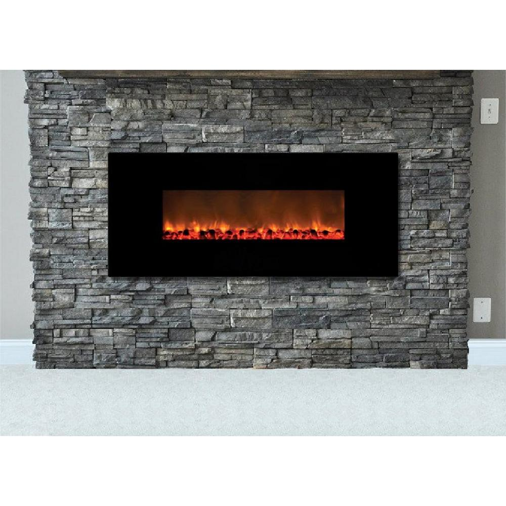 black wall mounted electric fireplaces fp148 c3 1000