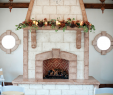 Garland for Fireplace Mantel Luxury Rustic Wedding Decorations Fireplace Mantel Garland at