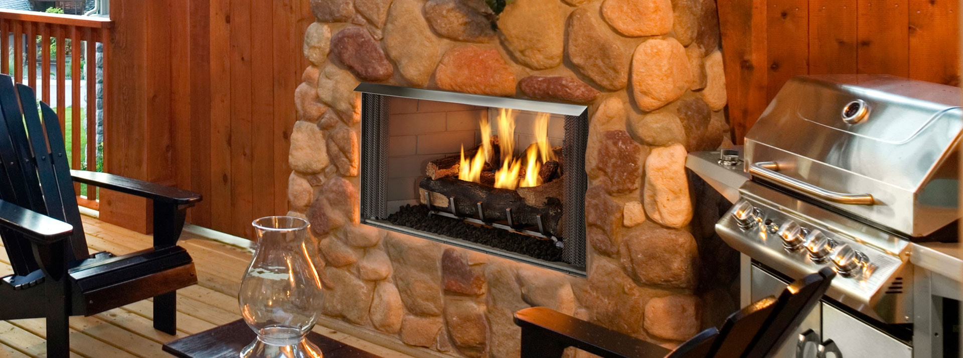 Gas Fireplace Door Replacement New Outdoor Lifestyles Villa Gas Pact Outdoor Fireplace