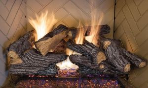 27 Unique Gas Fireplace Glowing Embers