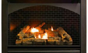 13 New Gas Fireplace Insert with Remote
