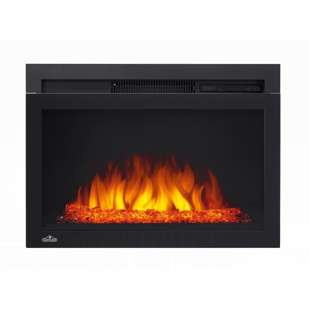 napoleon electric fireplace inserts nefb24hg 3a 64 1000