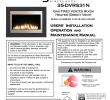 Gas Fireplace Switch Luxury Brigantia 35 Dvrs31n Specifications