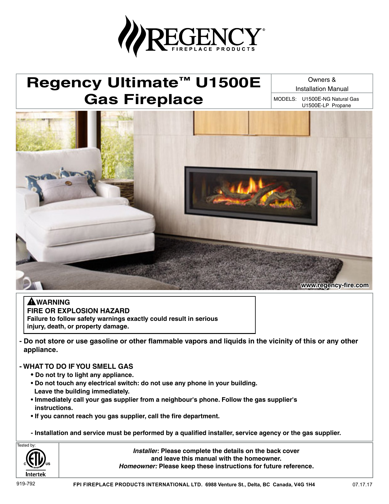 Gas Fireplace with Electric Switch Awesome Regency Ultimate™ U1500e Gas Fireplace
