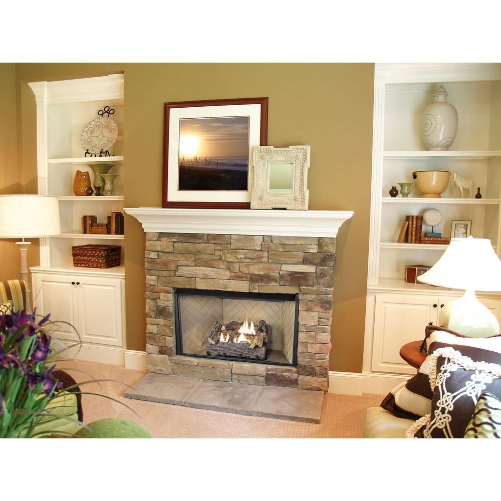 emberglow ventless gas fireplace logs tcvfm18nldc 31 1000