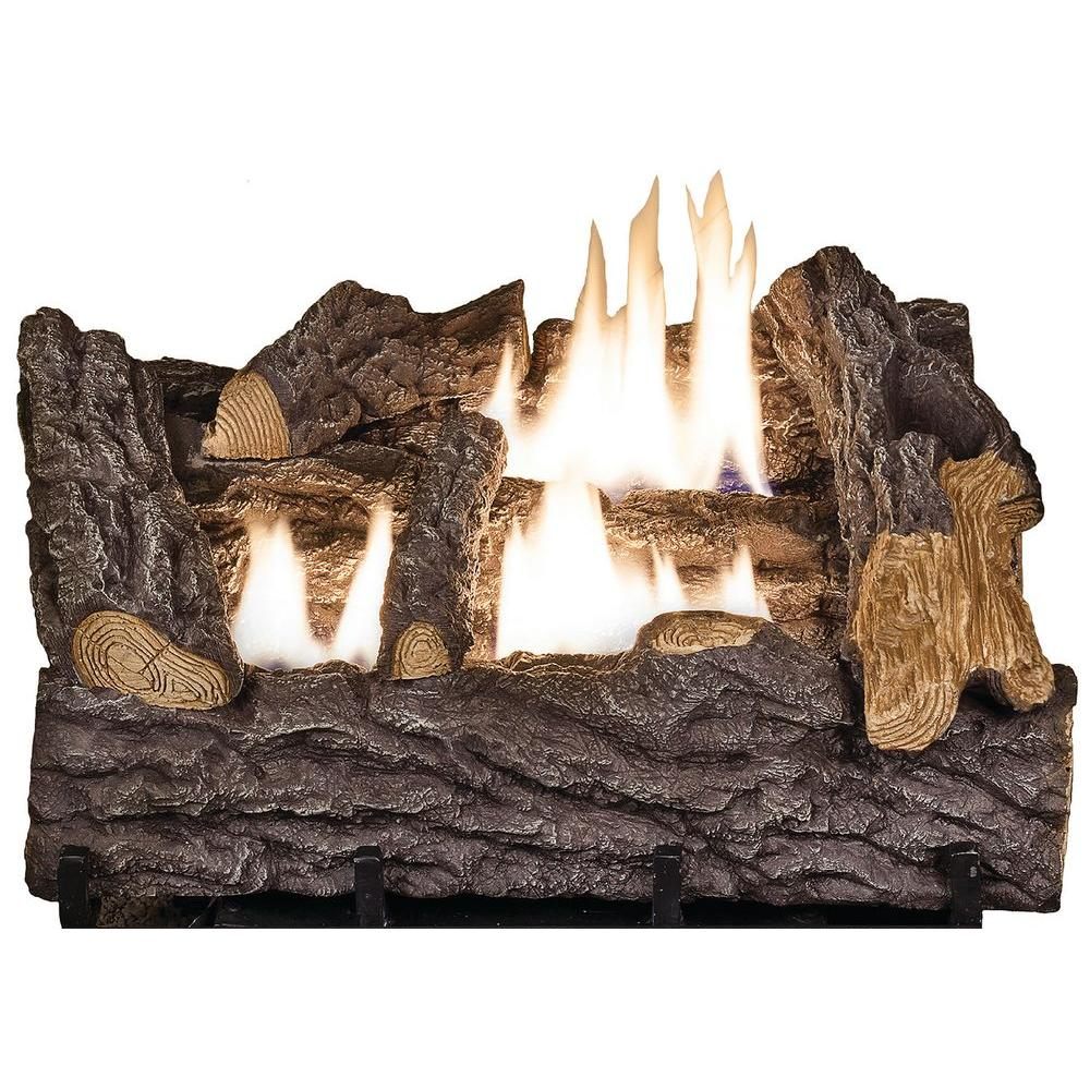 Gas Fireplace Won T Stay Lit Lovely Emberglow 18 In Timber Creek Vent Free Dual Fuel Gas Log Set with Manual Control