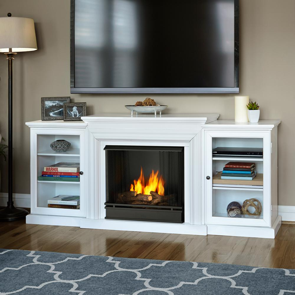 white real flame gel fireplaces 7740 w 64 1000