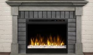 18 Luxury Glass Electric Fireplace