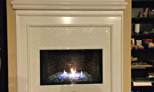 21 Unique Glass Stone Fireplace