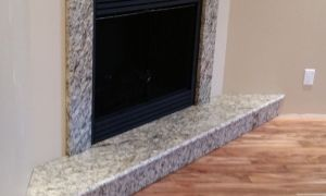 11 Unique Granite Fireplace