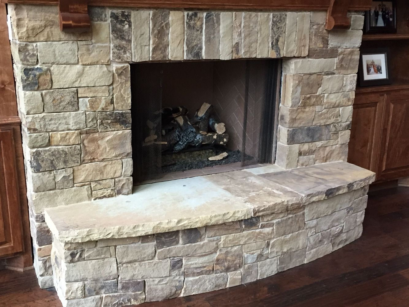 Granite Slab for Fireplace Hearth Lovely Oklahoma Multi Blend Chop by Legends Architectural Stone