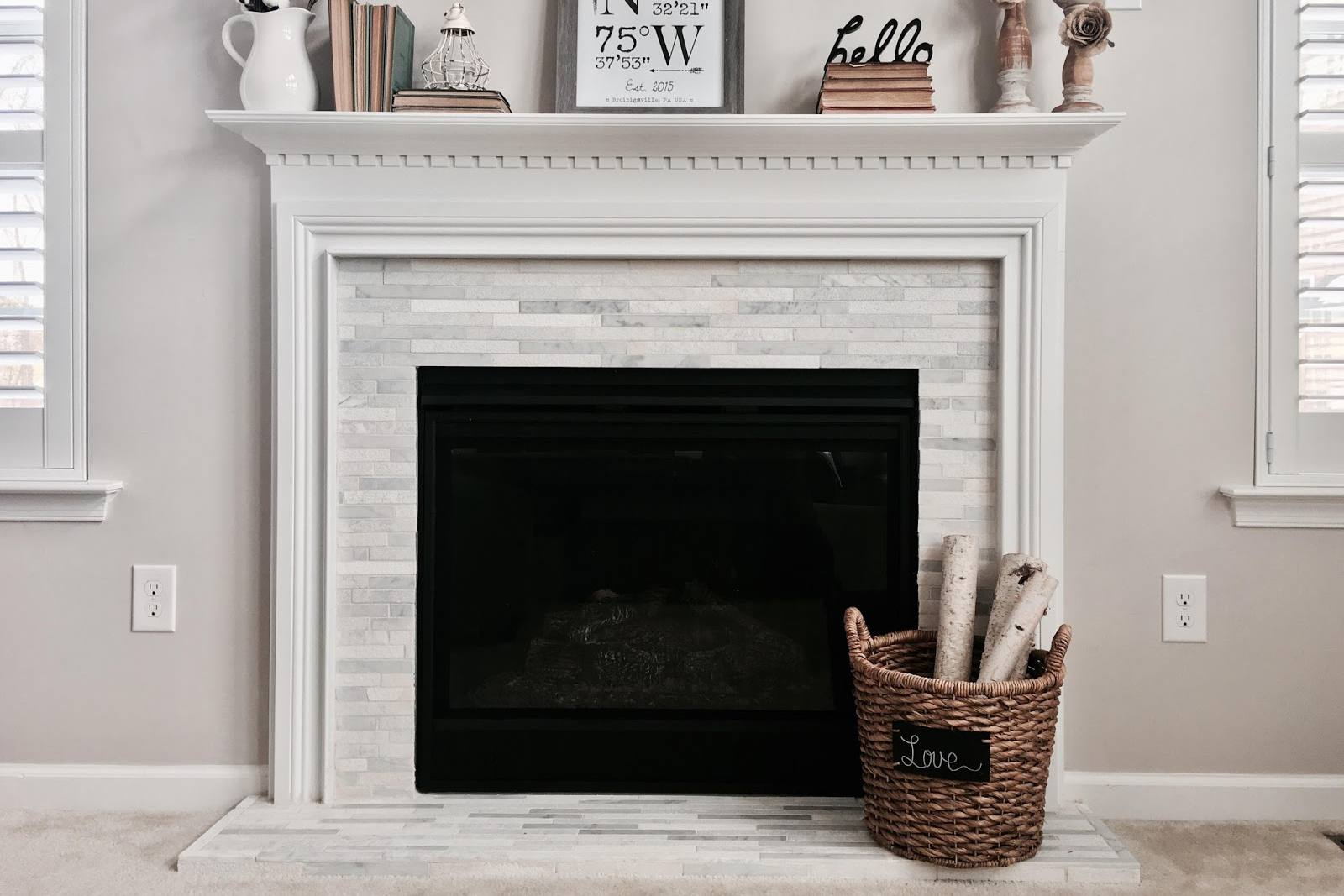1 narrow textured tile fireplace 2017 59f af5d3a0010b32e57