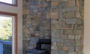 27 Luxury Gray Stone Fireplace