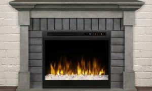 19 Luxury Grey Electric Fireplace
