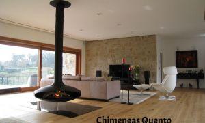 12 Luxury Hanging Fireplace
