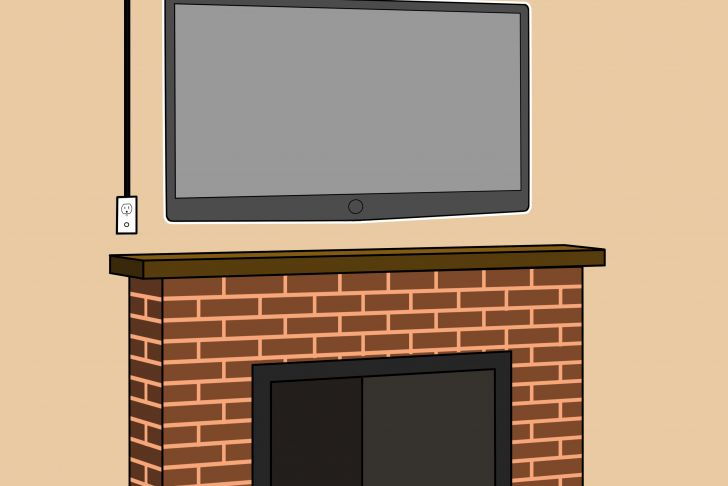 Hanging Tv On Brick Fireplace Elegant How to Mount A Fireplace Tv Bracket 7 Steps with