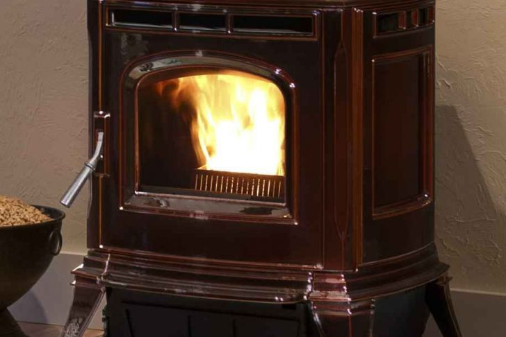 Harman Fireplace Insert Lovely Harman Absolute43 In A Glossy Brown Enamel Finish Industry