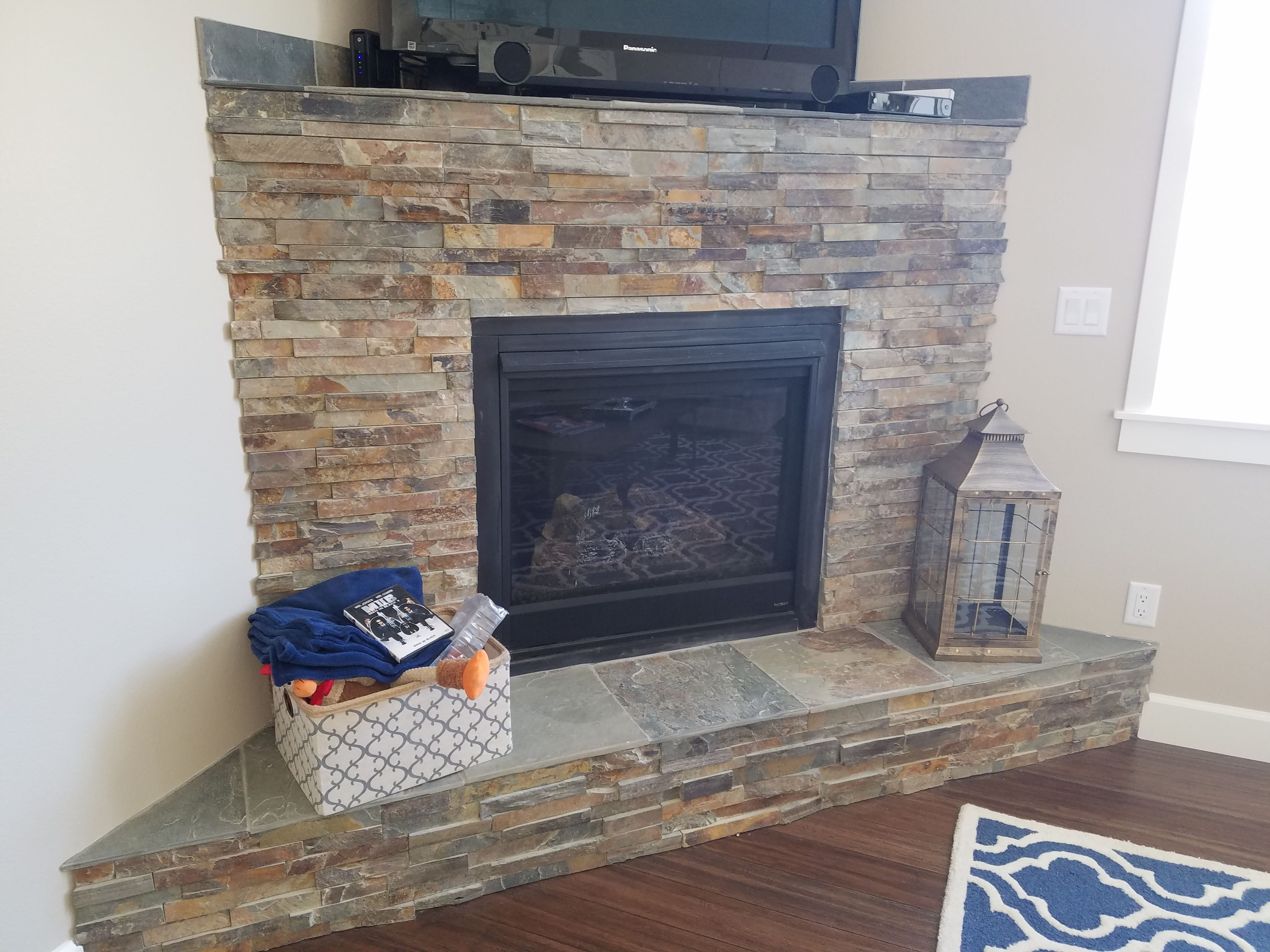 Hearthstone Fireplace Insert Awesome Ledger Stone Fireplace Charming Fireplace
