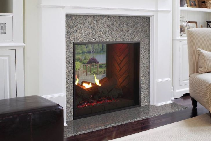 Heat N Glo Fireplace Flame Adjustment Unique fortress See Through Gas Fireplace