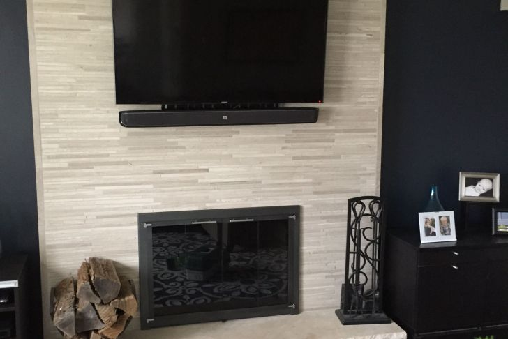 Heat Resistant Tile for Fireplace Best Of Our Old Fireplace Was 80 S 90 S Brick Veneer to Give It An