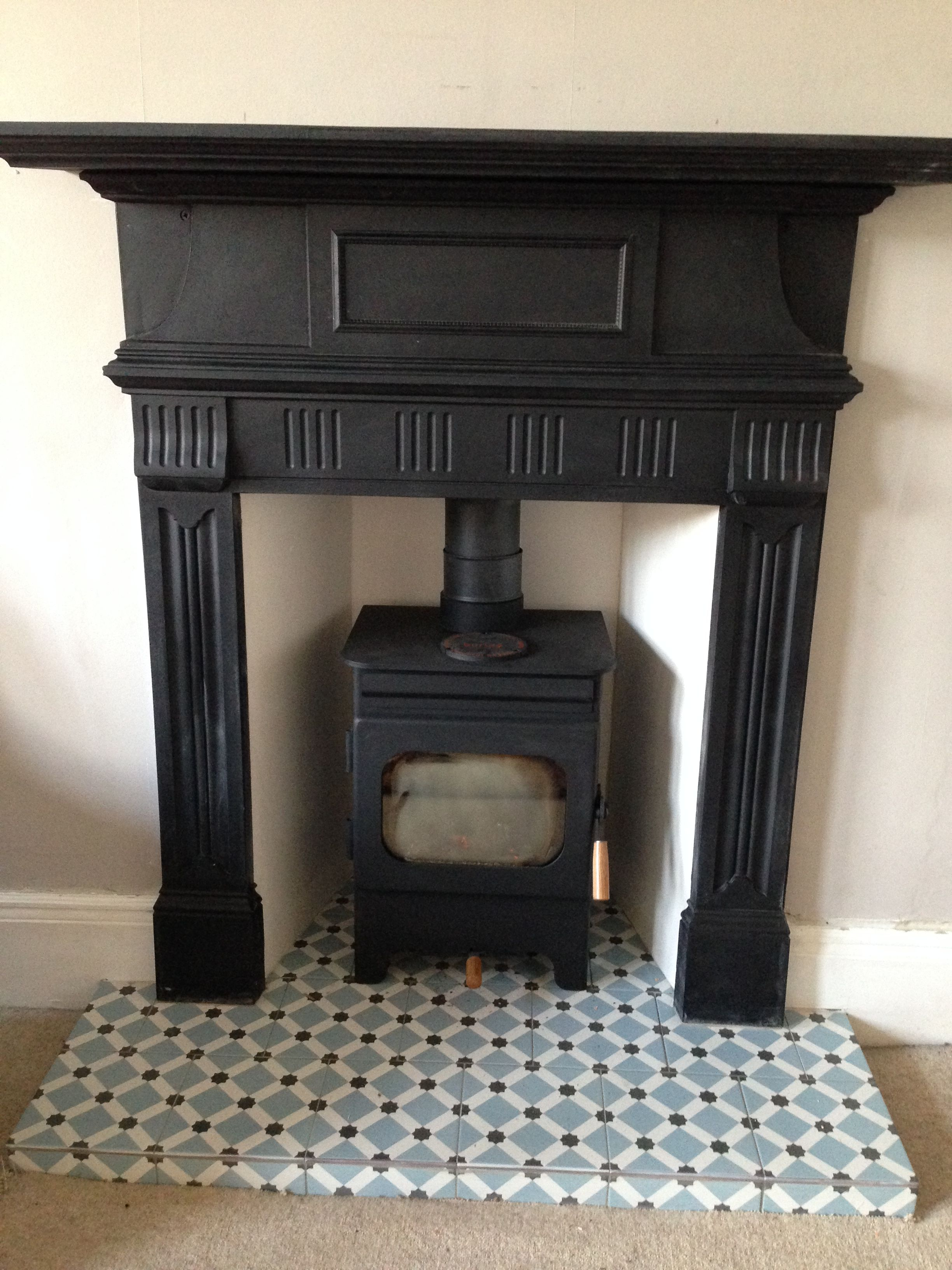 Heat Resistant Tile for Fireplace Fresh Debdale Wood Burning Fire Reclaimed Cast Iron Surround