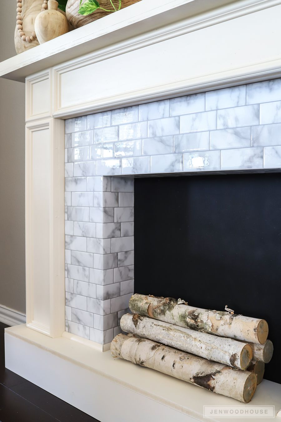 Heat Resistant Tile for Fireplace Lovely How to Make A Diy Faux Fireplace Featuring Smart Tiles