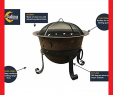 Heavy Duty Fireplace tools Beautiful Catalina Creations 29″ Heavy Duty Cast Iron Fire Pit with