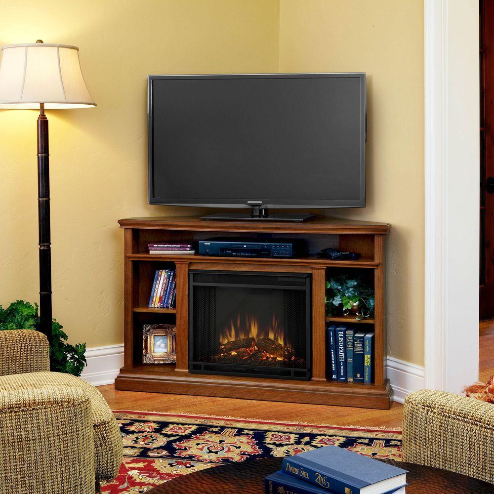 oak real flame corner electric fireplaces 3750e o 64 1000